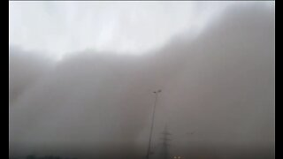 Decreased Visibility Reported as Deadly Dust Storm Sweeps Through Najaf, Iraq