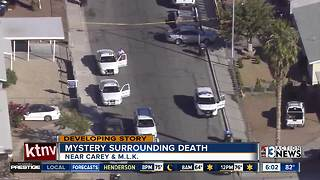 Man found shot and killed in North Las Vegas neighborhood, woman being questioned - Video