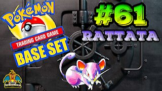 Pokemon Base Set #61 Rattata | Card Vault