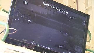 RAW VIDEO: Surveillance video shows vintage car being stolen - Video
