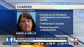DeSoto County woman charged with smuggling drugs into correctional facility