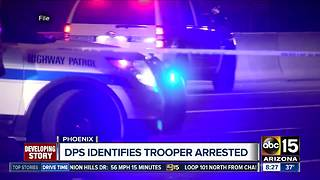 DPS identifies trooper arrested on weapons charges - Video