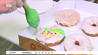 St. Patrick's Day treats at Duck Donuts in Estero