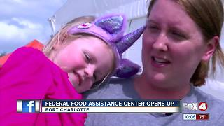 Moms find hope in food assistance after Irma - Video