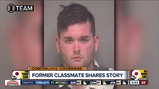 Former classmate said Charlottesville suspect 'would proclaim himself as a Nazi' - Video