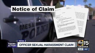 Mesa police officers file claim with city over sergeant's sexual harassment