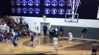 Elder High School student cheering section taunts opponents with racial and ethnic chants at basketball game - Video