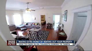 How to pay bills by listing one bedroom in your home as a short-term vacation rental - Video
