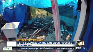 City steps up effort to clean up San Diego River - Video