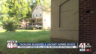 KCK rolling out new way to track blighted homes - Video