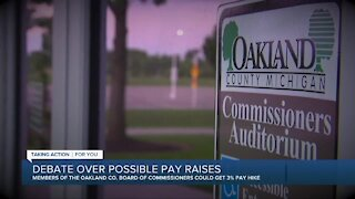 Debate over possible pay raises