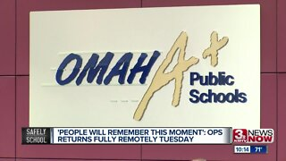 'People will remember this moment': OPS returns fully remotely Tuesday