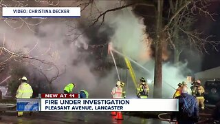 Lancaster house a total loss after fire