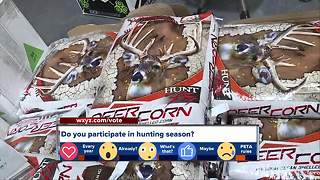 Do you participate in hunting season in Michigan? - Video