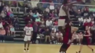 This 16 Yr Old Should Have Been In The Dunk Contest - Video