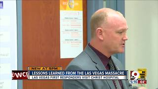 Vegas firefighters share lessons from shooting - Video