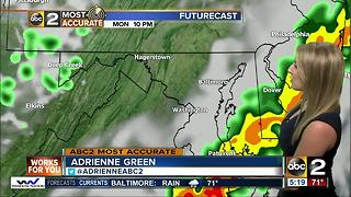 Maryland's Most Accurate Forecast - Storms Moving Out - Video