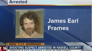 Shooting suspect arrested in Haskell County - Video