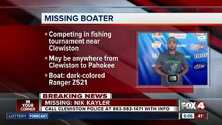 Missing fisherman last seen on Lake Okeechobee - Video