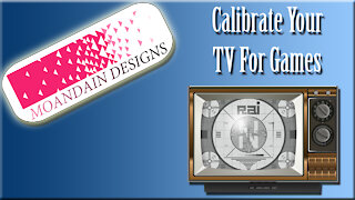 Calibrating Televisions For Video Games