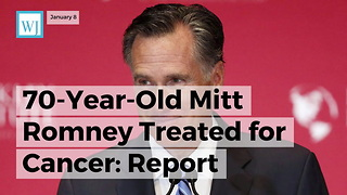 70-year-old Mitt Romney Treated For Cancer: Report - Video