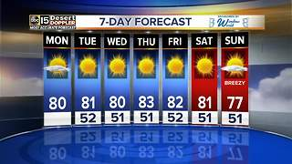 Sunny, warm week ahead in the Valley - Video