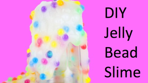 DIY Jelly bead slime