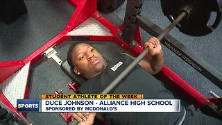 Student Athlete of the Week: Duce Johnson - Video