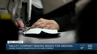 Valley company making masks for Arizona