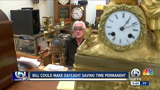 Daylight Saving Time bill - Video