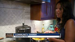 Sherman Park community dinner helps bring people together - Video