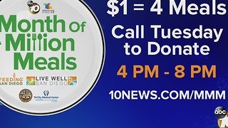 Month of a Million Meals campaign underway - Video