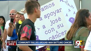 Community rallies around man battling cancer