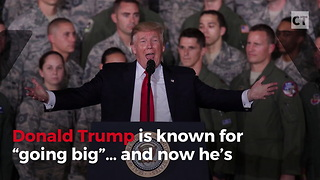 Trump Unveils New Take on Military Tradition - Video