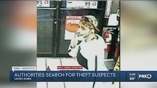 Crimestoppers searching for vehicle theft suspects