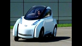 Futuristic Concept Car: 'Land Glider' - Video