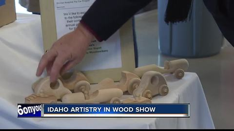 Idaho Artistry in Wood Show Makes Toys For Shriners