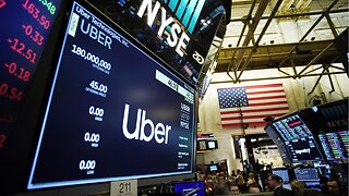 Uber stock down for second say following IPO