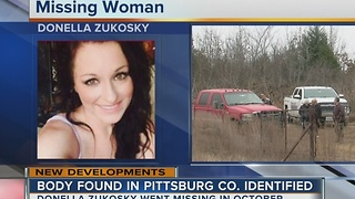 Missing Pittsburg Co. woman's body identified - Video