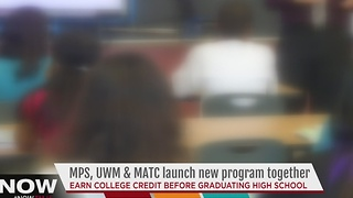 MPS partners with two colleges to help students pursue higher education - Video