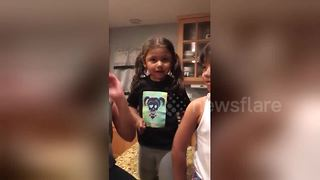 Little sister is very upset by gender reveal - Video