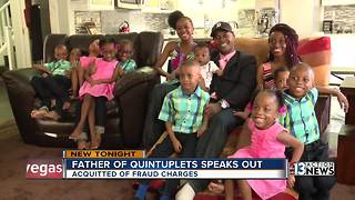 Dad of Las Vegas quintuplets acquitted of rental fraud charges - Video