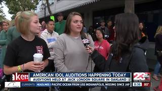 American Idol auditions held in Oakland - Video