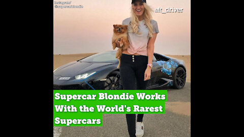 Supercar Blondie Works With the World's Rarest Supercars