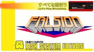 Let's Play Everything: Falsion