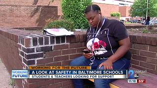 Students, teachers worried about Baltimore City school safety