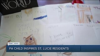 Pediatric cancer patient inspries others