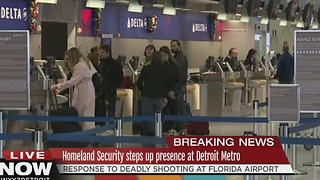 Passengers at Metro react to shootings - Video