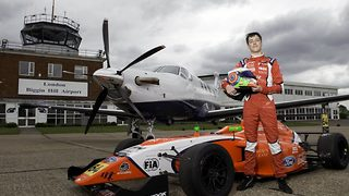 Racing ahead – British superstar set to become youngest formula 4 racer - Video