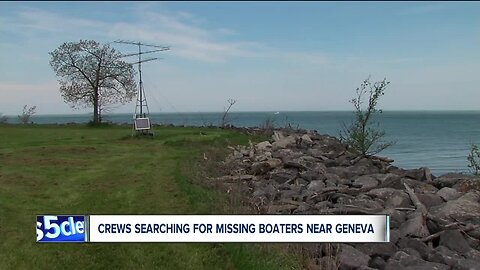 Coast Guard searching for 2 missing boaters at Geneva State Park after boat overturns